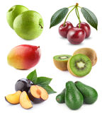 Vegetables and fruit collection Royalty Free Stock Photo