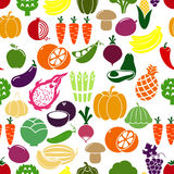 Vegetables and fruits background Royalty Free Stock Photo
