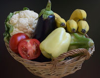 Vegetables and fruits Royalty Free Stock Photos