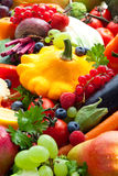 Vegetables,fruits and berries Stock Photography