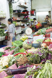 Vegetables and fruits market Royalty Free Stock Image