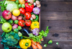 Vegetables and fruits. Royalty Free Stock Photography