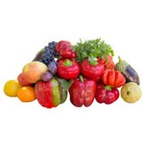 Vegetables and Fruits. Royalty Free Stock Images