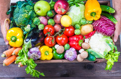 Vegetables and fruits. Royalty Free Stock Photo