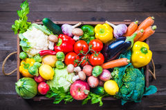 Vegetables and fruits. Stock Images