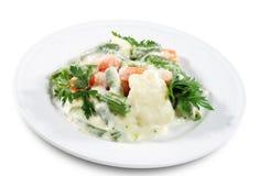 Vegetables Garnish Stock Images