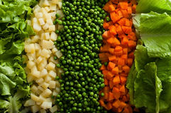 Vegetables and Grains Stock Images