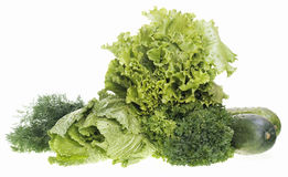 Vegetables and greens Royalty Free Stock Images