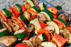 Vegetables on grill Stock Photography
