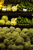 Vegetables in grocery store Royalty Free Stock Images