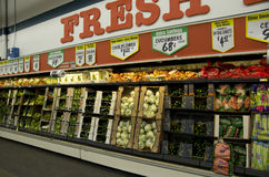 Vegetables grocery store stock photography