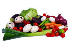 Vegetables group Royalty Free Stock Photos