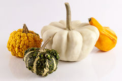 Vegetables for Halloween Stock Photography