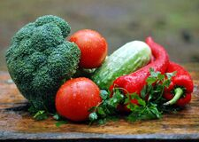 Vegetables, Healthy Nutrition Stock Images