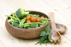 Vegetables and herbs Stock Photography