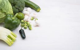 Vegetables hero header Royalty Free Stock Photography