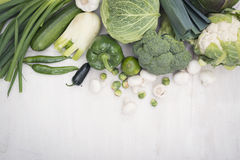 Vegetables hero header Stock Photography
