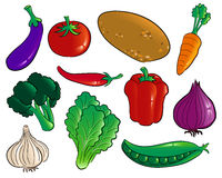 Vegetables icon Royalty Free Stock Photos