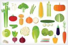 Vegetables icon Stock Images