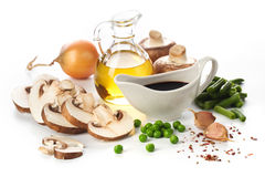 Vegetables ingredients Royalty Free Stock Photography