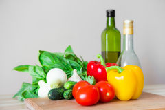Vegetables ingredients Royalty Free Stock Photo