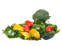 Vegetables island Royalty Free Stock Photography