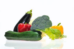 Vegetables isolated. Stock Photography