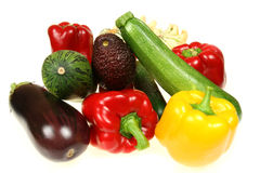 Vegetables isolated Royalty Free Stock Photography