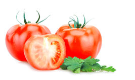 Vegetables isolated Royalty Free Stock Image