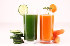 vegetables juice Stock Images
