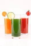 Vegetables juice Stock Photo