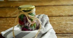 Vegetables kept in jar 4k