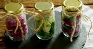 Vegetables kept in jars 4k