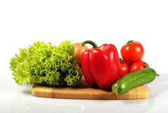 Vegetables in kitchen Royalty Free Stock Photography