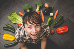 Vegetables in the kitchen Royalty Free Stock Photo