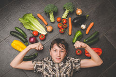Vegetables in the kitchen Royalty Free Stock Photography