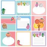 Vegetables layout design Stock Images