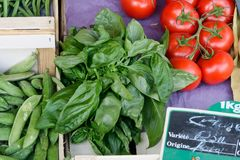 vegetables on a local rural market in summer month july of city stock images