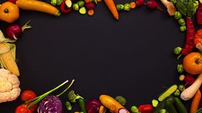 Vegetables made letter Z stock footage