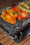 Vegetables on a marble plate 3 Stock Photography
