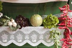 Vegetables Market Stock Photography