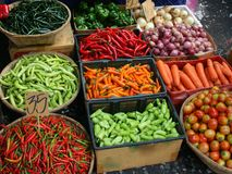 Vegetables at Market Royalty Free Stock Photo
