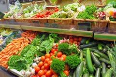 Vegetables on a market Royalty Free Stock Photos