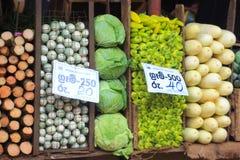 Vegetables market Royalty Free Stock Photos