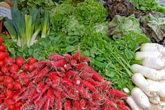 Vegetables market Stock Photos