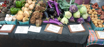 Vegetables at the Market Stock Photography