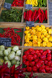 Vegetables Market. In a street market in the heart of Munich Stock Images