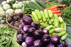 Vegetables at the market Royalty Free Stock Images