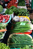 Vegetables at the market Stock Images