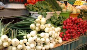 Vegetables from market Stock Photos
